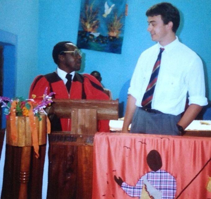Steve Petch's First Preach | Life changing tip an answer to prayer | Steve Petch Blog