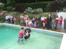 Baptism Grace Church Sussex
