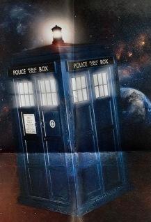 Ben bought his TARDIS
