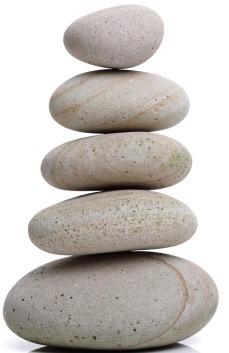 David brought five small stones