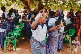 Mothers at Eglise Evangelique de la Mission Chretienne Legbanou worshipping together