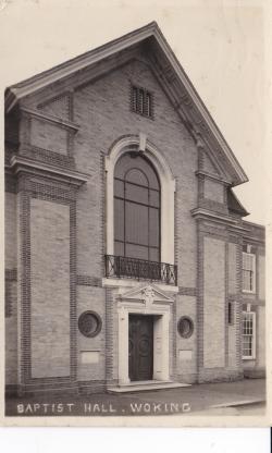 Building No. 3: Percy Street Baptist Church
