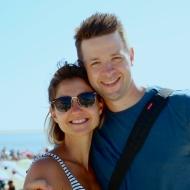 Sarah and Christopher